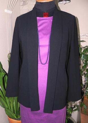 Вечерний пиджак-накидка отличного качества от мирового бренда marks & spencer