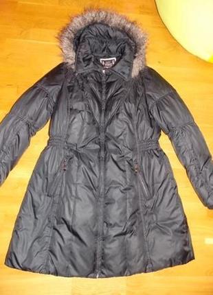 Немецкое фирменное пальто-пуховик yessica р-р 48 (наш)германия1 фото