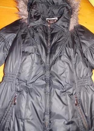 Немецкое фирменное пальто-пуховик yessica р-р 48 (наш)германия2 фото