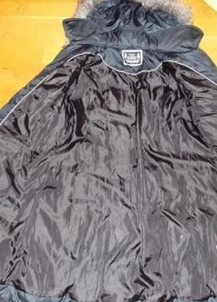 Немецкое фирменное пальто-пуховик yessica р-р 48 (наш)германия4 фото