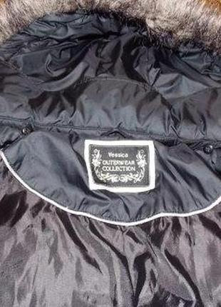 Немецкое фирменное пальто-пуховик yessica р-р 48 (наш)германия5 фото