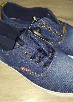 Мокасины джинсовые мужские кеды текстиль джинс2 фото