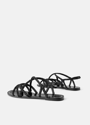 Мега крутые сандалии zara2 фото