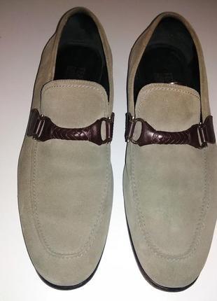 Туфли salvatore ferragamo made in italy