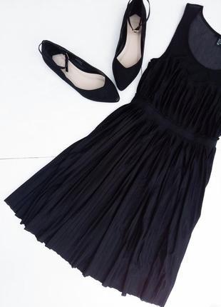 Нежное платье плиссе с резинкой на талии❤️