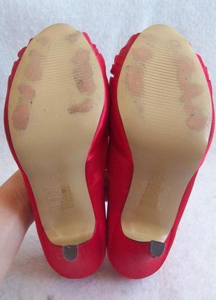 Туфли нарядные атлас стразы9 фото
