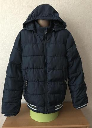Pocopiano- куртка болоневая с капюшоном, осень-зима, 11-12 лет
