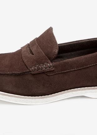 Замшевые макасины / туфли loafer next gh/7120 (uk10 / eur44)
