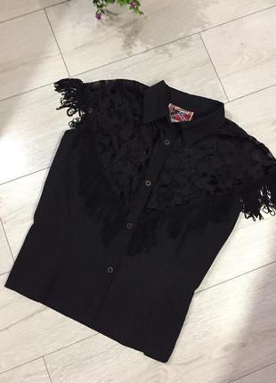 Рубашка с бахромой в ковбойском стиле