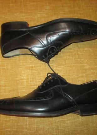Кожаные туфли patrick броги оксфорды3 фото