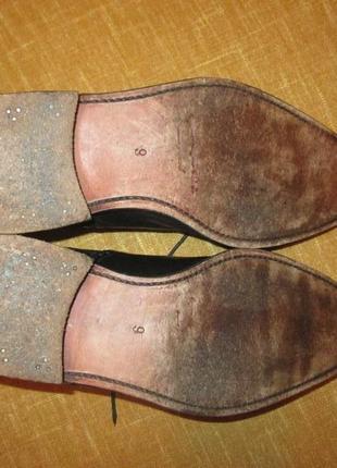 Кожаные туфли patrick броги оксфорды6 фото