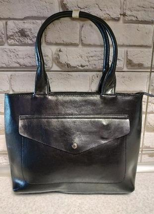 Кожаная классическая сумка