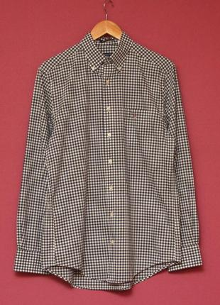 Gant usa poplin gingham рр m regular fit рубашка из хлопка