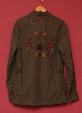 Marc ecko m-65 jacket  m (s бирка) куртка из хлопка милитари