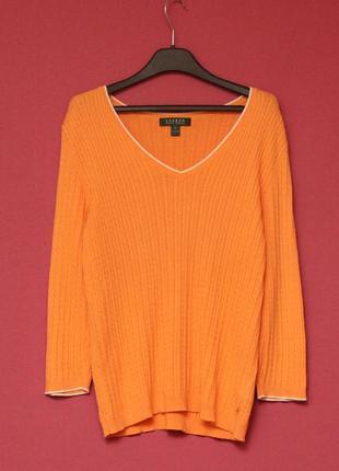 Lauren (polo ralph lauren) s-m свитер из хлопка джемпер