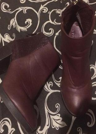 Fiore ботинки ботильоны полу сапожки
