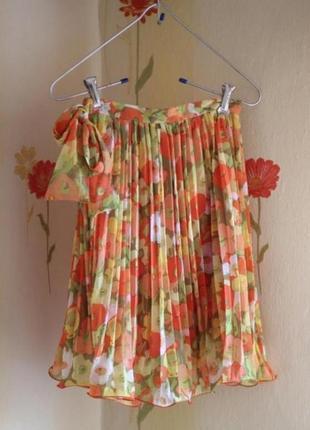 Юбка, плиссированная юбка