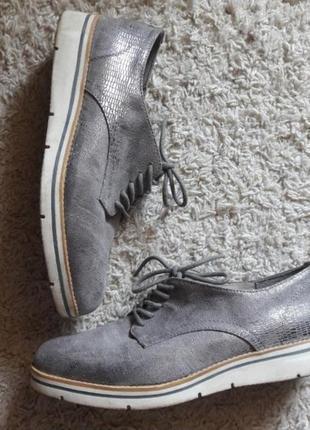 Туфли на шнурках seveneast