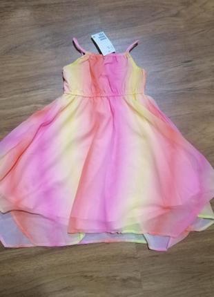 Платье яркое лёгкое