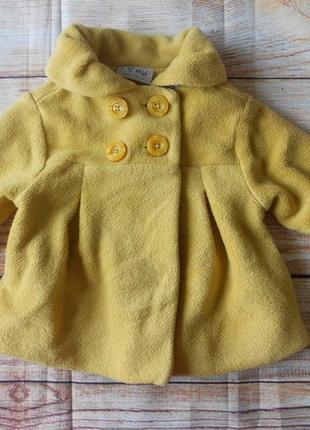 Пальто на девочку next 9-12мес.