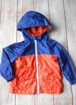 Демисезонная ветровка куртка на мальчика tu 9-12мес.
