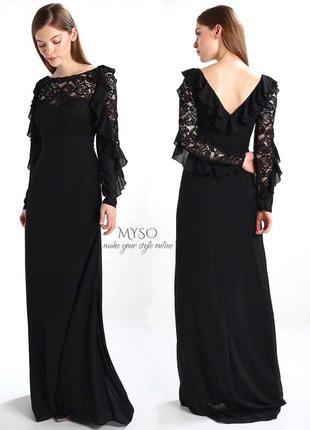 Роскошное вечернее  платье tfnc london