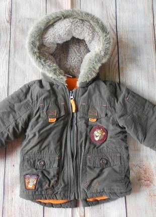 Демисезонная куртка на мальчика disney 9-12мес.