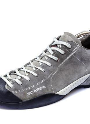 Кроссовки scarpa mojito vibram. стелька 27, 5 см