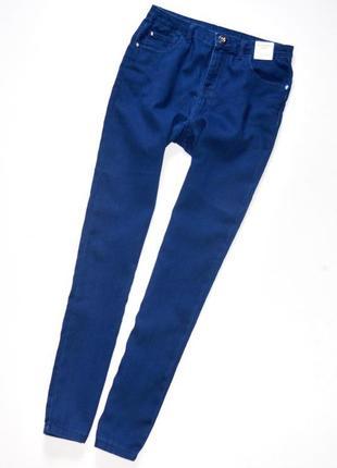 M&co новые эластичные джинсы скинни с высокой посадкой для девочки 11-12 лет.