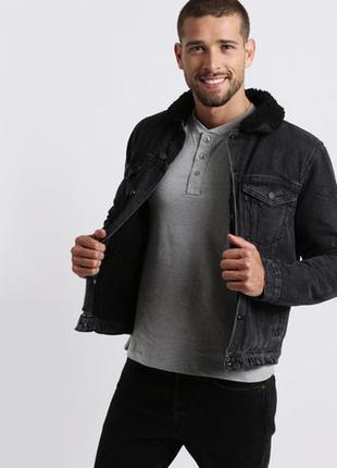 Sherpa jacket new look man