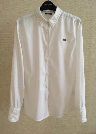 Белая рубашка napapijri