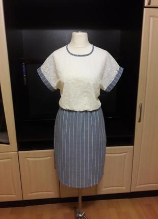 Летняя распродажа!!! шикарное льняное платье
