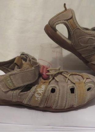 Сандали туфли кожа s.oliver 36 размер