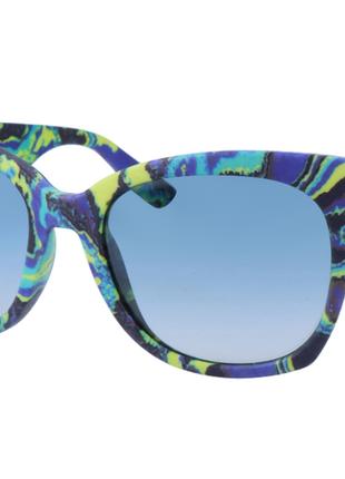 Новые крупные солнцезащитные очки alexander mcqueen яркий принт оригинал