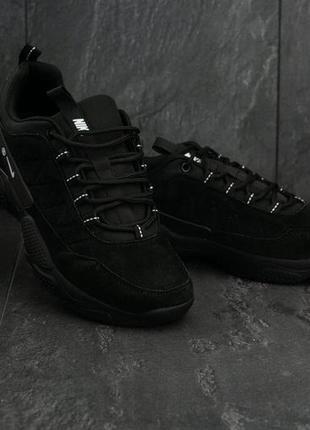 Мужские кроссовки кросівки замша натуральная nike air rivah