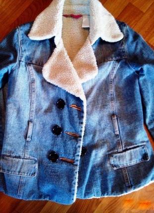 Ультра модная джинсовая курточка