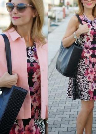 Акция дня🔥🔥!очень красивое нежное платье миди с цветами+🎁трусики 3шт