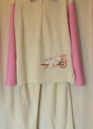 Флисовый костюм для дома milk and honey р.xl