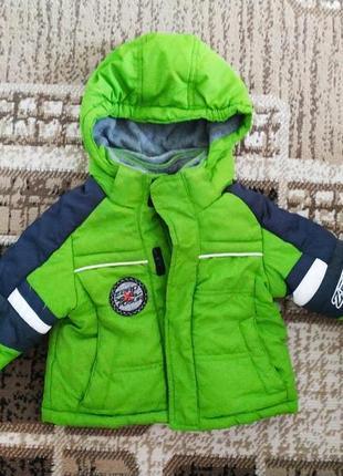Тепленька демісезонна курточка