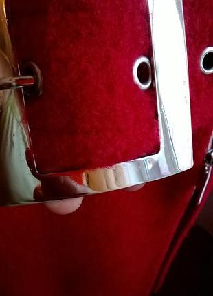 Пальто /l/xl /шерсть/демисезонное /красное