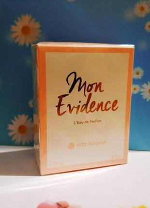 "Великий розпродаж!!!парфумована вода ""mon evidence"" ів роше ив роше yves rocher"