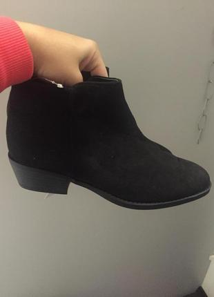 Ботинки на низком каблуке h&m