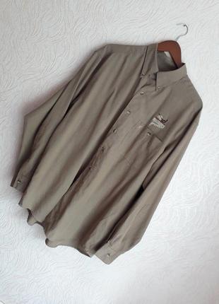 Красивая рубашка с вышивкой browning