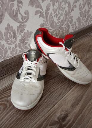 Кожаные кроссовки stiga