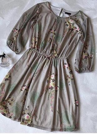 Романтичное платьице в пастельных тонах