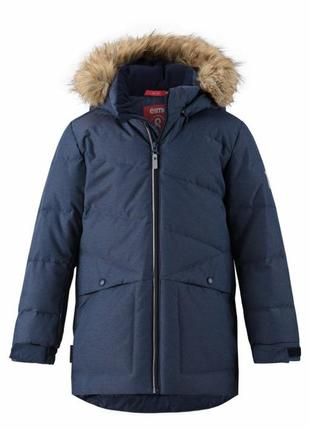 Куртка-пуховик для мальчика reima jussi 140 р.