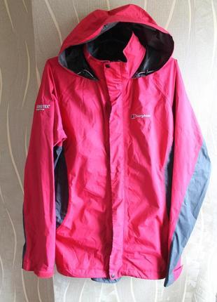Красивезная курточка универсальная в яркой расцветке мембранная berghaus