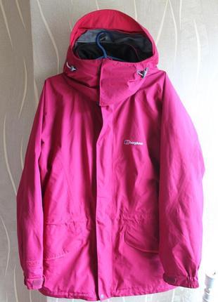 Пленительная необычная курточка весна осень на мембране berghaus