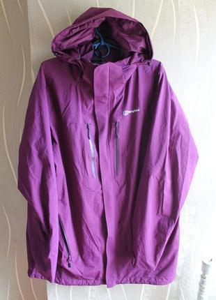 Топовая мембранная весенняя осенняя тонкая куртка водо и ветростойкая berghaus
