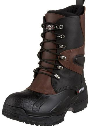 Зимние кожаные ботинки t-100'c baffin 42р/43р сапоги оригинал